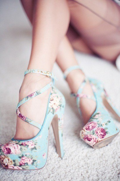 amazing, blue, colour, fashion, flower, heels, legs