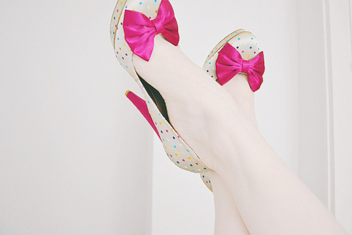amazing, bow, bright, dots, fashion