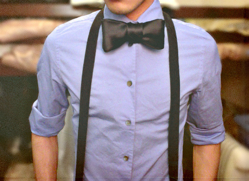 amazing, bow tie, boy, cute, cute boy, fashion, guy, hair, hipster, indie, love, photography, suspenders