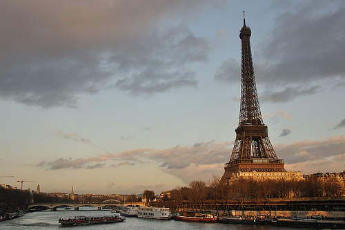 amazng, city, dreams, eiffel tower, evening