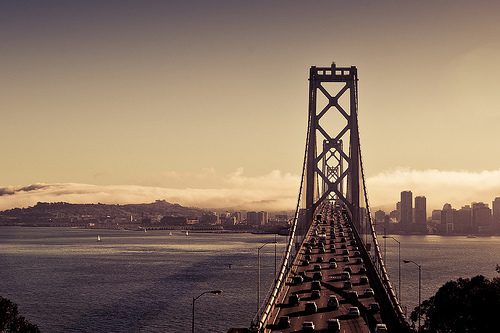 america, architecture, bridge, california, cars, city, ggb, golden gate, golden gate bridge, landscape, san francisco, summer, sun, sunset, united states, united states of america, usa