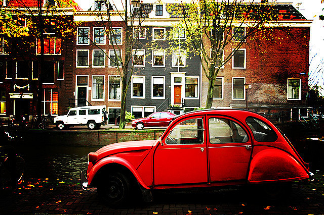 amsterdam, beautiful, car, holland, netherlands