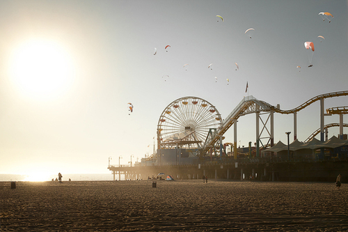 amusement park, awesome, beac, beach, beautiful