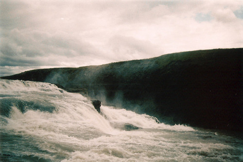 analog, cute, grain, heaven, hipster, indie, nature, river, sky, water, waves, wet, white