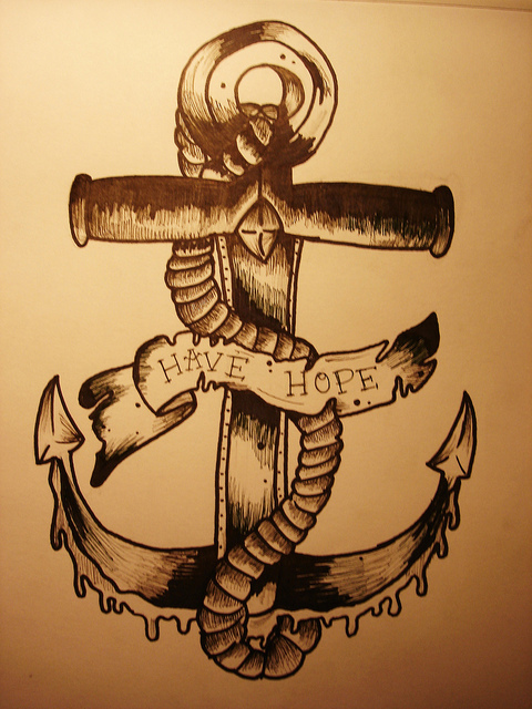 anchor, anchor drawing, art, artwork, design