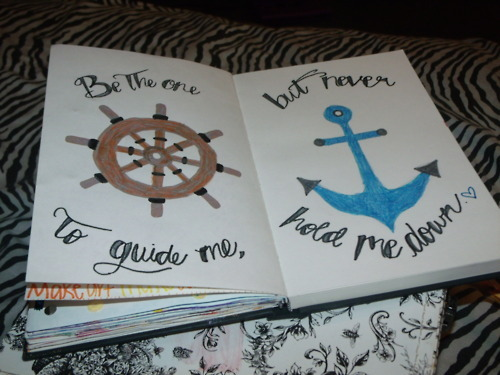 anchor, boat, book, colorful, cute