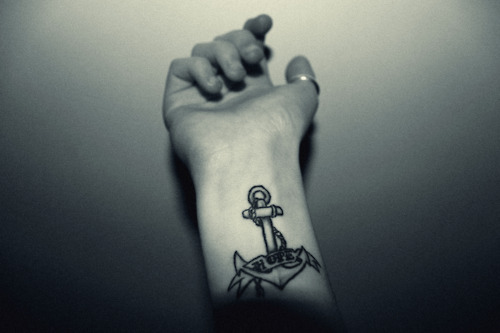 anchor, hand, hope, tattoo, tattoos