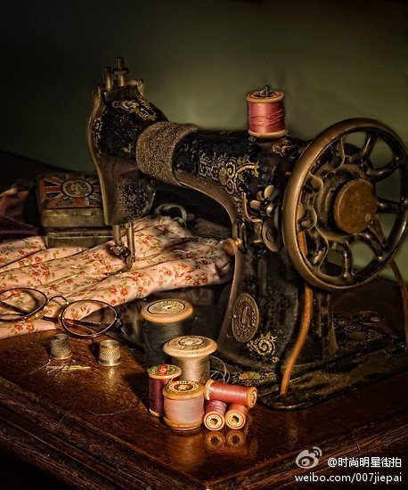 ancient, antique, beautiful, cute, photography, sewing machine, vintage