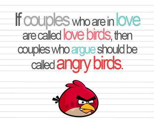 angry, bird, love