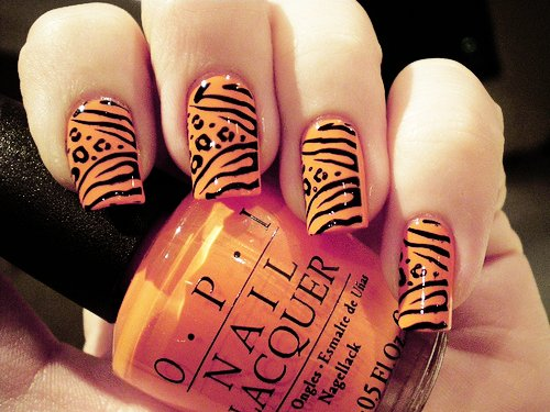 animal, cute, girl, nail, nail polish