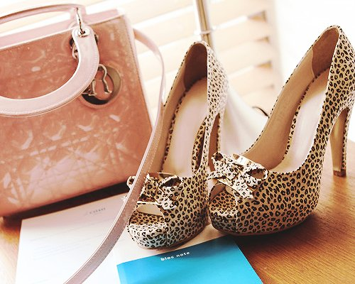 animal print, barbie, cute, fashion, heels