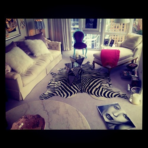 animal print, beautiful, city, decoration, home, hot, kate moss, print, room, zebra