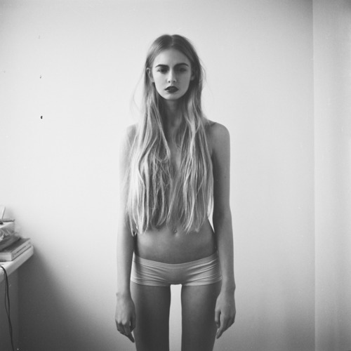 anorexic, b&w, beautiful, belly, black and white