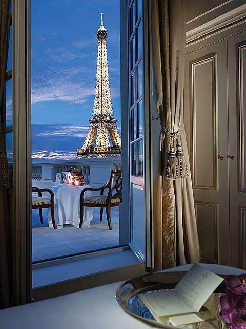 apartment, beautiful, city, eiffel tower, france