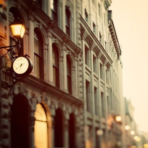 architecture, beautiful, city, clock, light, lights, photography, street