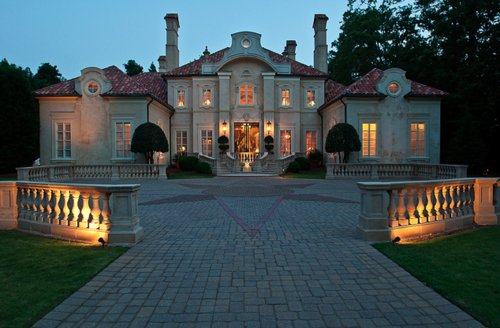 architecture, beautiful, house, light, lights