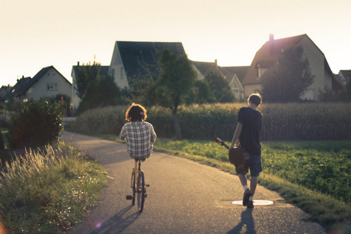art, beautiful, boys, cool, fields, germany, hipster, houses, indie, photo, photography, summer, sun, villagfe