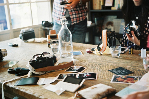 art, beautiful, camera, cool, desk