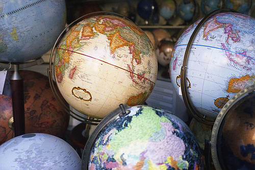 art, beautiful, colours, cool, globe, globes, land, life, photography, sea, the world, travel, vintage, world