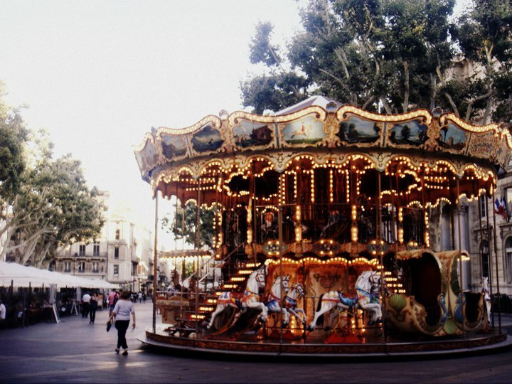 art, carrousel, cool, france, horse