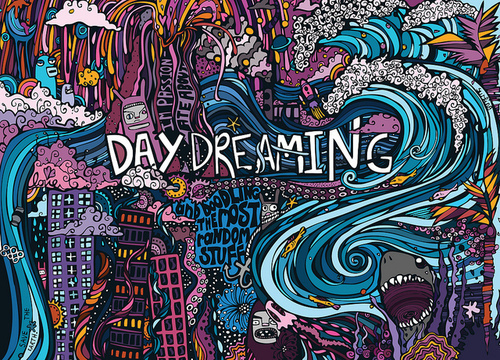 Art Colorful Colors Daydream Daydreaming  Image