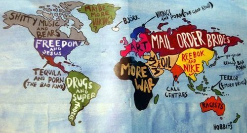 art, fun, insulting, map, negative, world