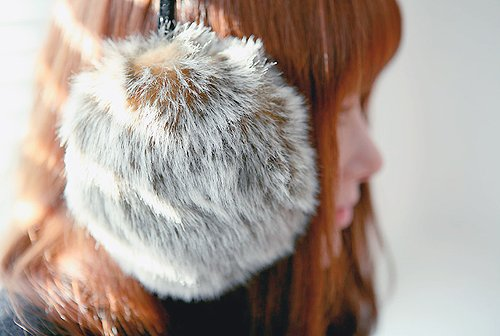 asian, aww, cloth, cold, cute, earpuff, fashion, girl, hair, photography, snow, ulzzang, winter