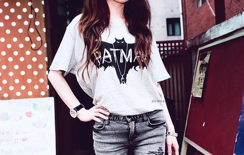 asian, batman, clothes, cute, fashion