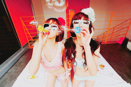 asian, beautiful, bubbles, cool, cute