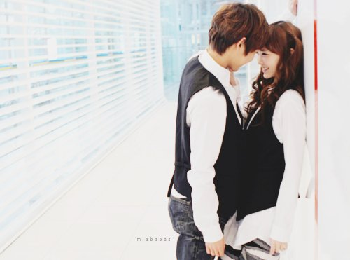 asian love, boy, couple, cute, girl