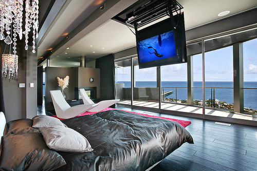 awesome, beach, bedroom, cool, luxury
