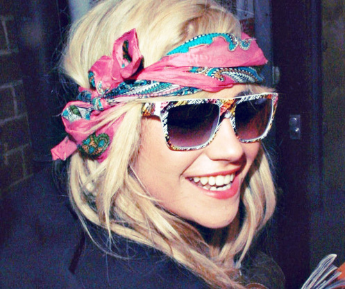 awesome, blonde, cool, cute, girl, glasses, heart, nice, pink, pixie lott, pretty, smile, society, sun glasses