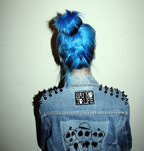 awesome, blue, blue hair, hair