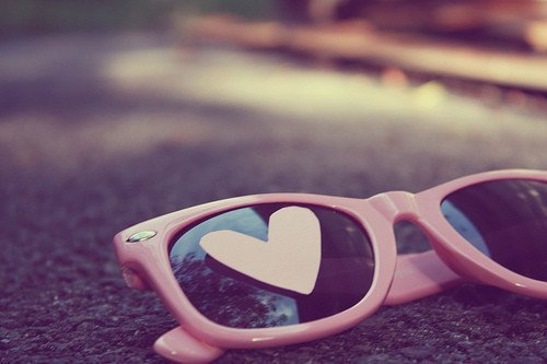 awesome, cool, cute, girl, heart, nice, pink, pretty, sun glasses