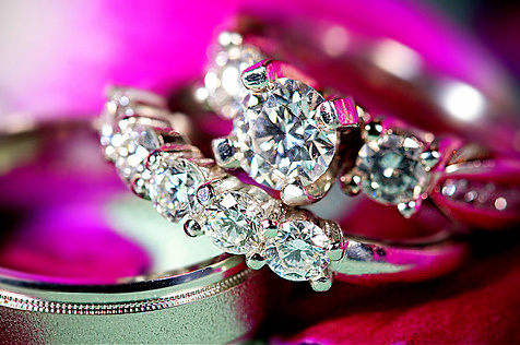 awesome, cool, diamonds, diamonds are forever, epic, glossy, jewlery, pink, rings, shiney, want, white, wow