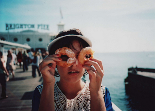 awesome, donut, girl, photography