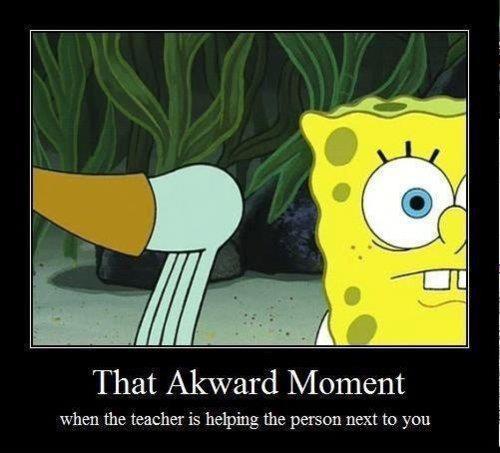 awkward, funny, photography, realistic, spongebob, squidward