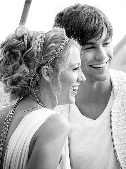 b & w, b&w, black and white, blake, blake lively, boy, chace, chace crawford, chick, cute, female, girl, gossip girl, guy, hair, happy, hot, male, man, nice, photo, photograph, photography, picture, smile, woman