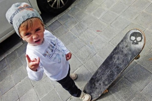 baby, baby boy, cute, fashion, kid, rock, sk8, skate, style