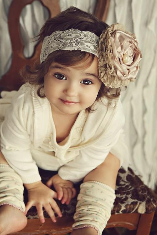 baby, brown, cute, girl, hair, rose