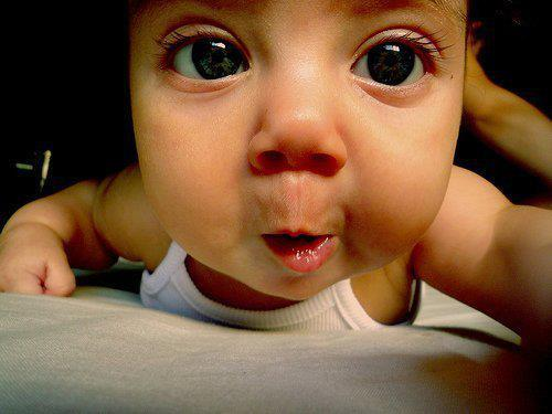 baby, cute, eyes, nose