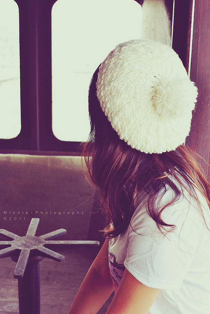 back, cute, girl, hate, vintage