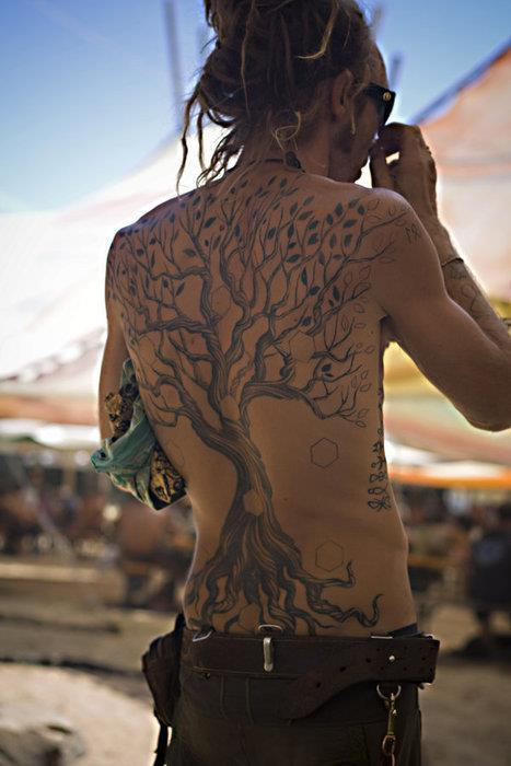 back, dread, hippie, nice, tattoo
