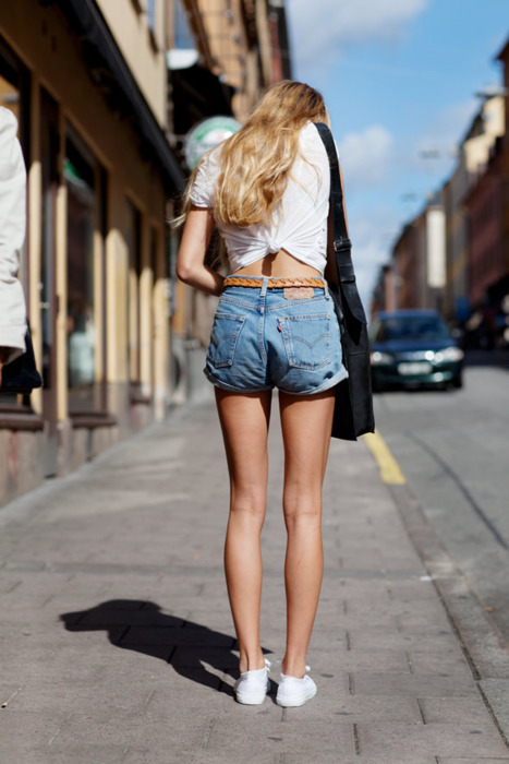 bag, beautiful, belt, blond, blong, converse, fashion, girl, hair, hort, model, vans