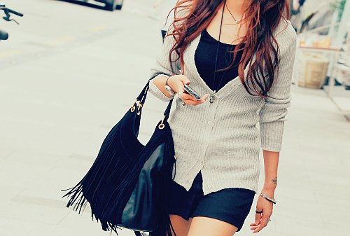 bag, beautiful, clothes, dark, fashion