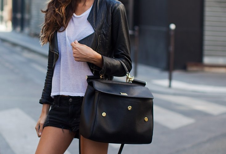 bag, black, fashion, outfit, style