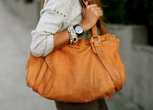bag, brown, cute, fashion, girl