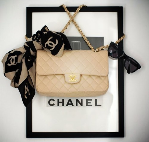 bag, chanel, cream, cute, designer