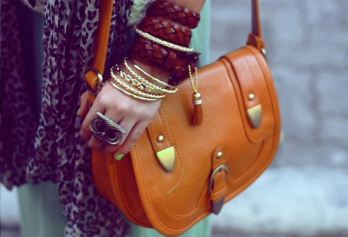 bag, fashion, girl, glasses, nailpolish, owl, photography, rings, vintage