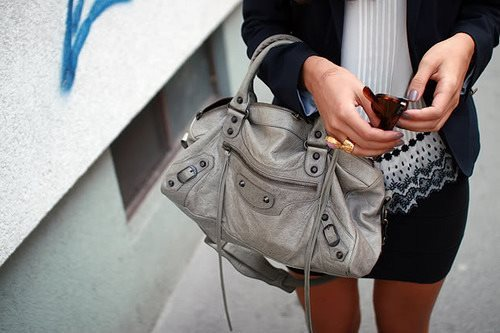 bag, fashion, girl, gray, grey